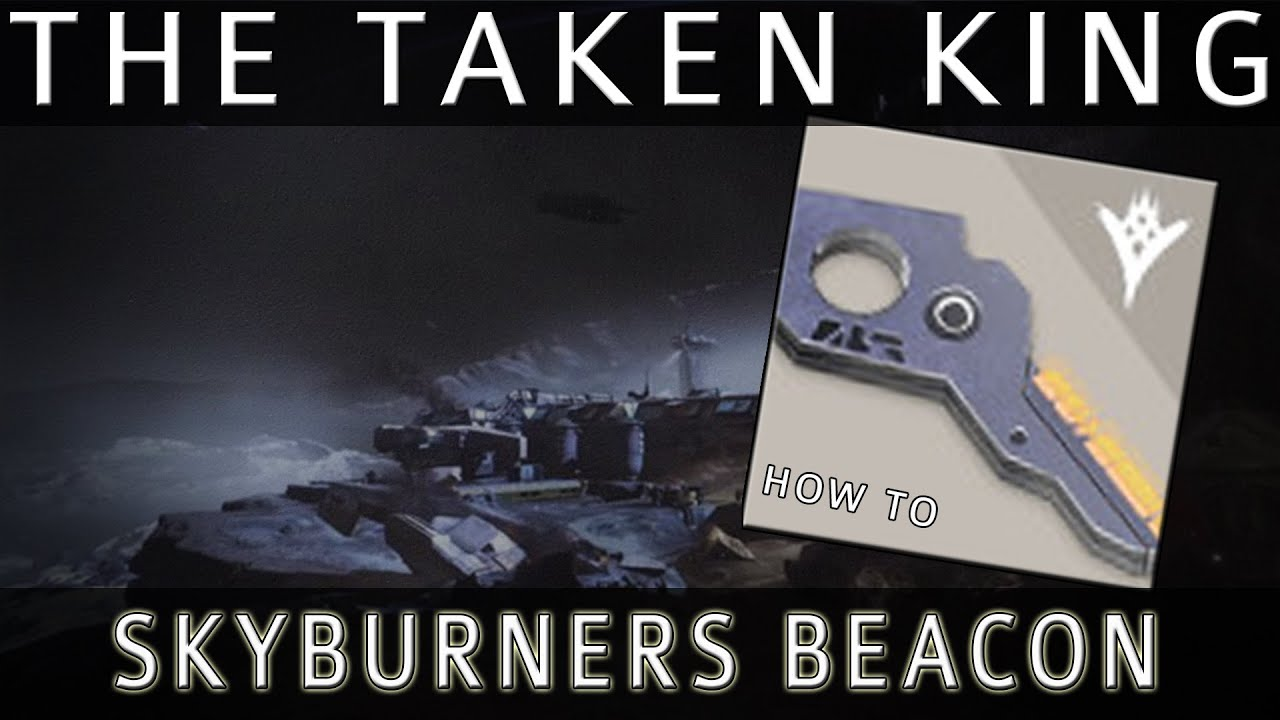 Destiny - Skyburners Command Beacon Guide