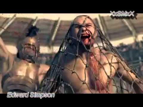 Spartacus.. gannicus contra los rebeldess...