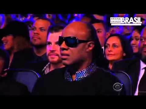 Ariana Grande and babyface Stevie Wonder cover