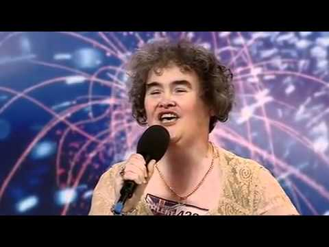 Britain's Got Talent - Susan Boyle First Audition