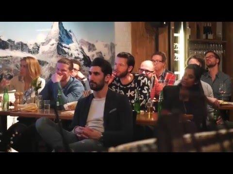 Anna Ottosson Blixth (Peak Innovation) & Henrik Köhler (Spektrumeye) Startup Grind Ski week