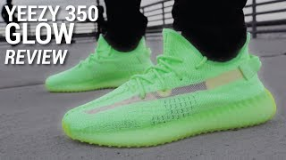 Adidas YEEZY Boost 350 V2 GLOW Review & GIVEAWAY