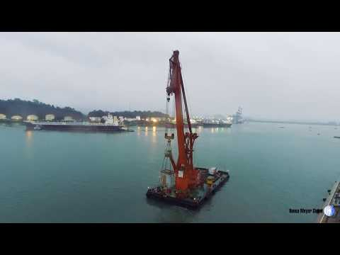 HEAVY-LIFT TRANSFORMERS USING FLOATING CRANE