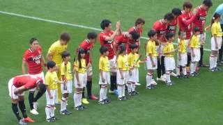 2016年5月14日、埼玉スタジアム2002で行われたJリーグ・ファーストステ...