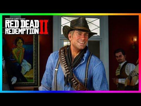 10 Moments Where Arthur Morgan Actually Has Fun & A Good Time In Red Dead Redemption 2! (RDR2) thumbnail