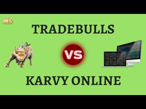 Karvy Online Vs Trade Bulls Comparison - Brokerage ...
