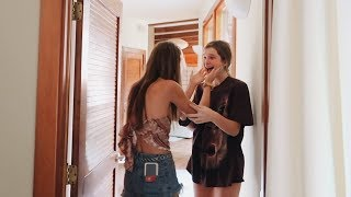 surprising her sister for her birthday *cute & emotional*