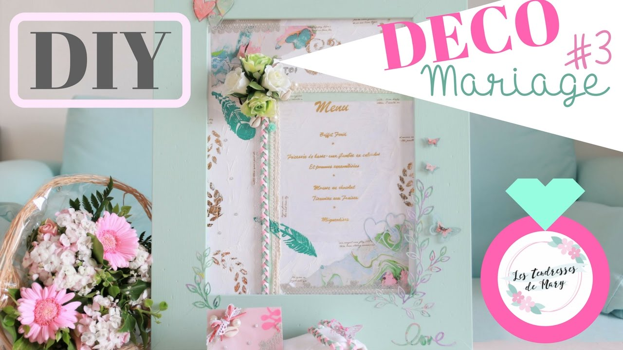 diy dco de table mariage tableau menu thme bohme with diy boheme