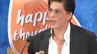 Shahrukh Khan Speech For Humanity  happy thoughts