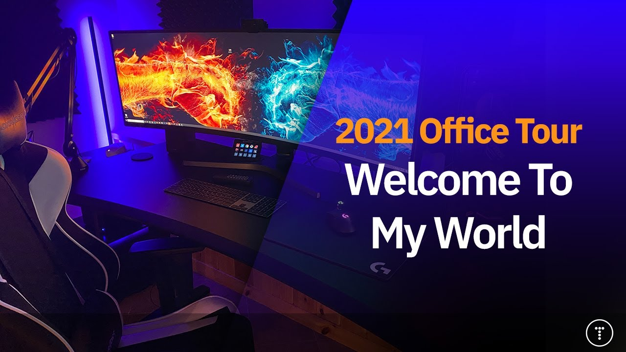 Welcome To My World | 2021 Home Office Tour