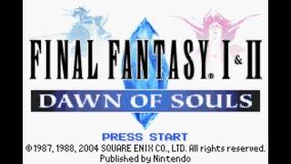 Final Fantasy I & II: Dawn of Souls [GBA] Title Screens