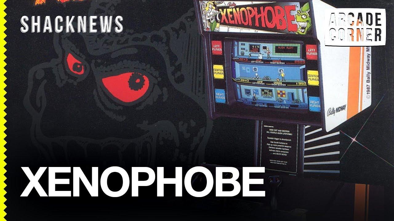 Shack S Arcade Corner Xenophobe Youtube