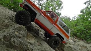 Traxxas TRX-4 Blazer #3 │ Trail in Mountains