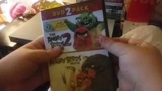 The Angry Birds Movie / The Angry Birds Movie 2 DVD 2 Pack Unboxing