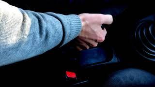 Как правильно снять и поставить машину на ручник