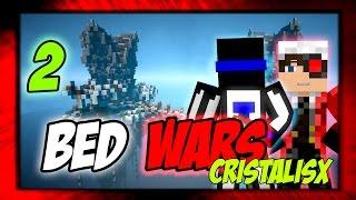 ПЫТАЮСЬ ДЕРЖАТЬ СЕБЯ В РУКАХ! BED WARS CRISTALIX! 2