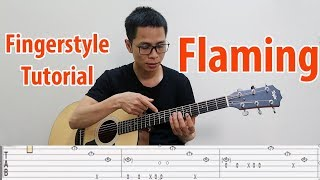 Flaming - Sungha Jung | Fingerstyle Tutorial Hướng dẫn