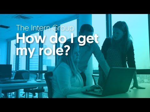 The Intern Group Placement Process - How do I get my role?