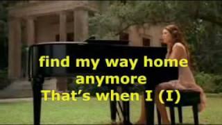 """When I look at you""  Miley Cyrus feat. David Bisbal - Te miro a Ti (Lyrics)"