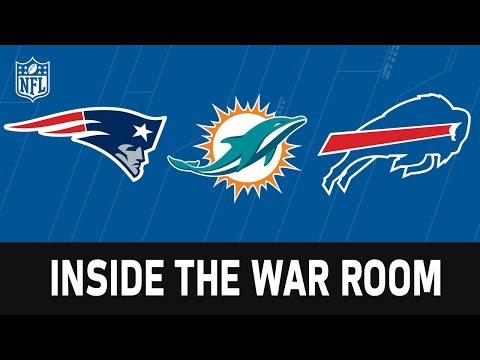 Draft War Rooms of the Patriots, Bills and Dolphins | NFL Network | Path to the Draft
