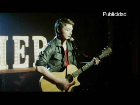 Sterling Knight singing Hero at the Starstruck DVD Release Party