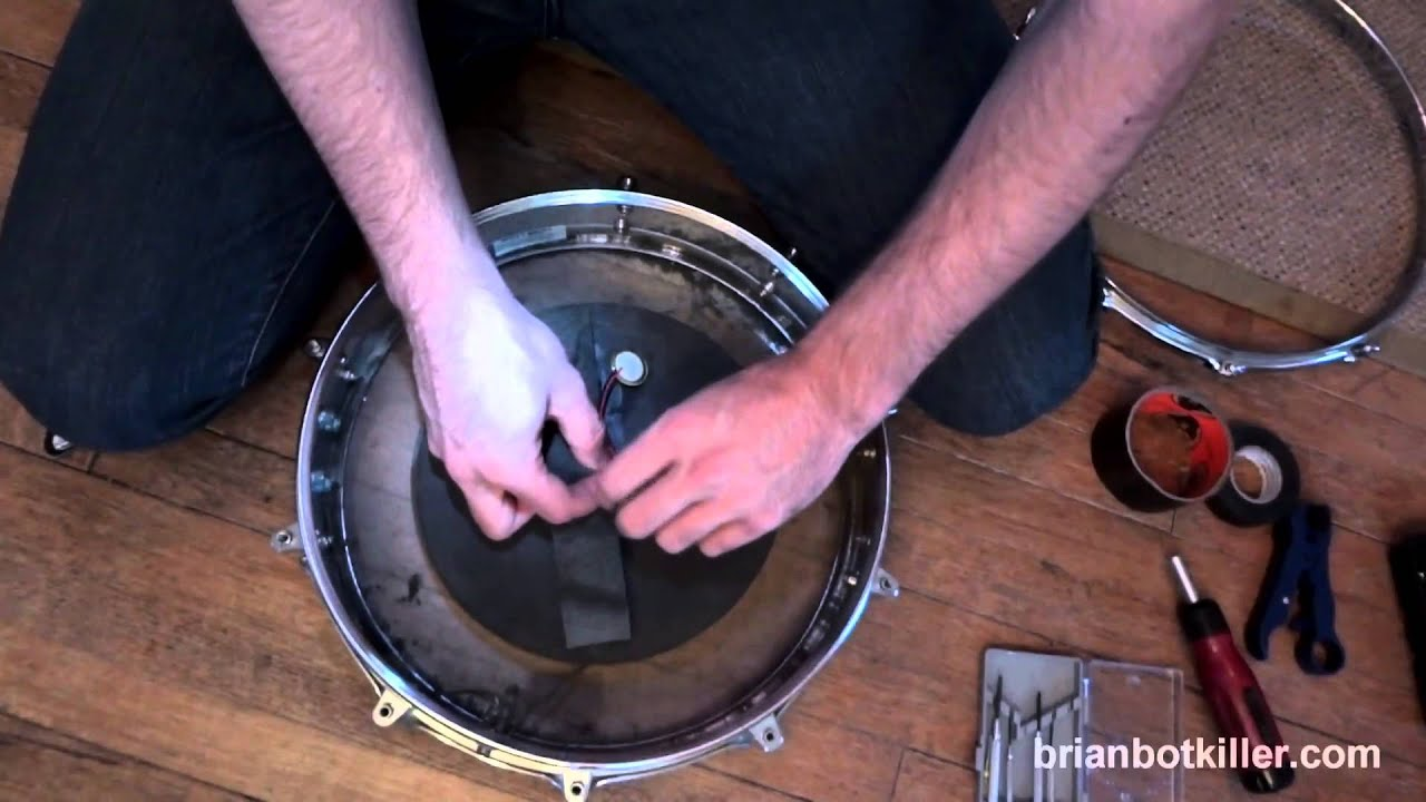 How to fix electronic drum triggers