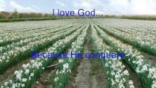 I LOVE GOD BECAUSE-karaoke-With Lyrics
