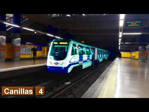 Metro de Madrid : Canillas L4 ( Serie 3000 )