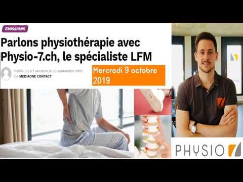 Interview et questions: LFM radio le spécialiste Physio 7 lombalgies
