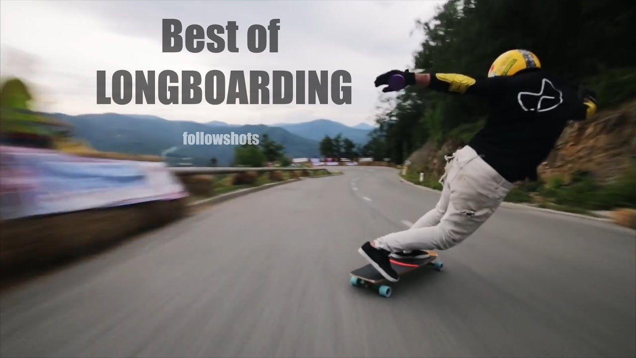 Best of Longboarding - Compilation #1