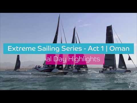 Extreme Sailing Series - Final Day Highlights | Act 1 - Oman 2018