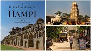 The Best Places to Visit in Hampi