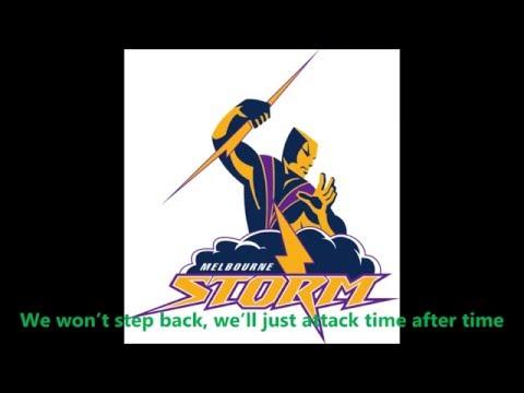 Melbourne Storm theme song (Lyrics) NRL Sing-A-Long