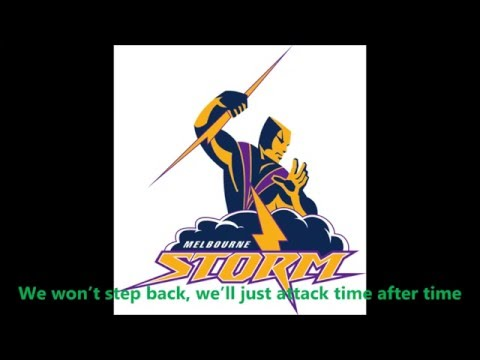 Melbourne Storm theme song (Lyrics) NRL Sing-A-Long
