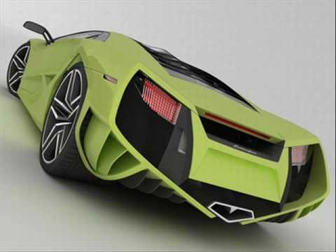 Lamborghini X Concept (first on youtube!!!)