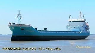 MARIETJE NORA PDAS IMO 9481609 Emden cargo seaship merchant vessel built 2015 Frachtschiff Seeschiff