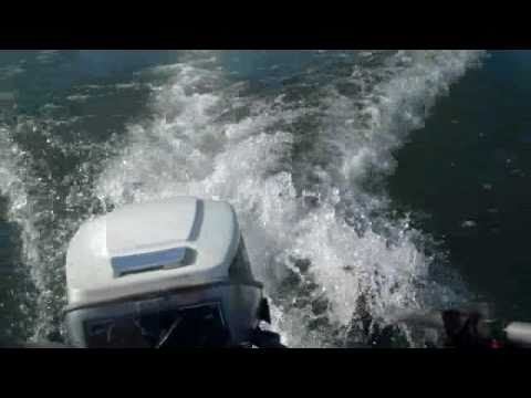 15hp Evinrude on 12ft Jon Boat