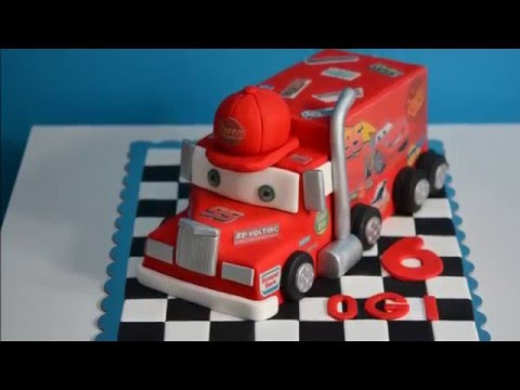 Mack the Truck Birthday Cake Tutorial YouTube