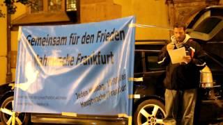 06.10.14 - Mahnwache für den Frieden - Frankfurt/Main [Teil 1]