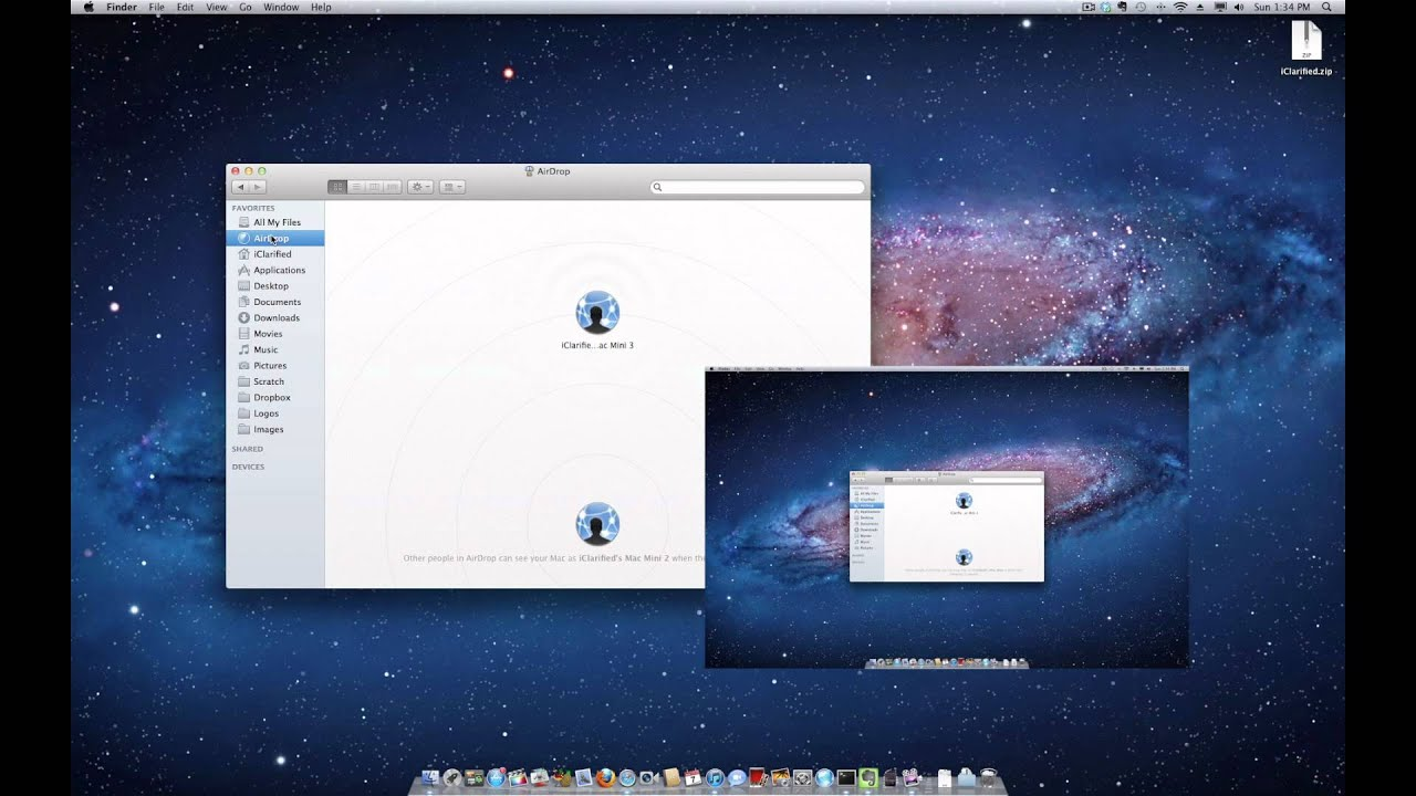 How To Use Airdrop In Mac Os X Lion