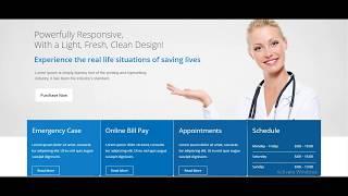 iMedica Responsive Medical & Health WP Theme