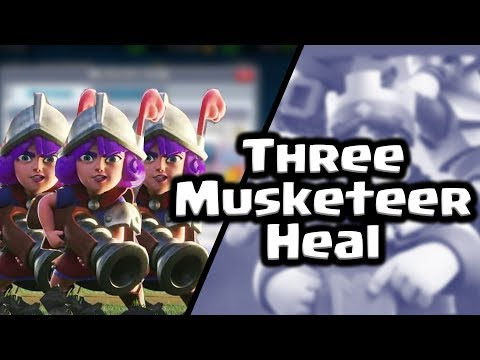 Clash Royale | Three Musk Heal | Deck Guide