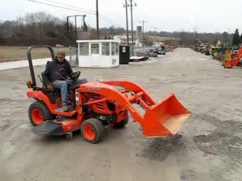 kubota bx2350 4x4 tractor with loader youtube. Black Bedroom Furniture Sets. Home Design Ideas