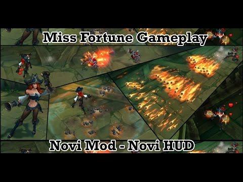 Nova Miss Fortune - Gameplay   Captain Fortune Skin   Black Market Brawlers -  Novi Mod   Novi HUD