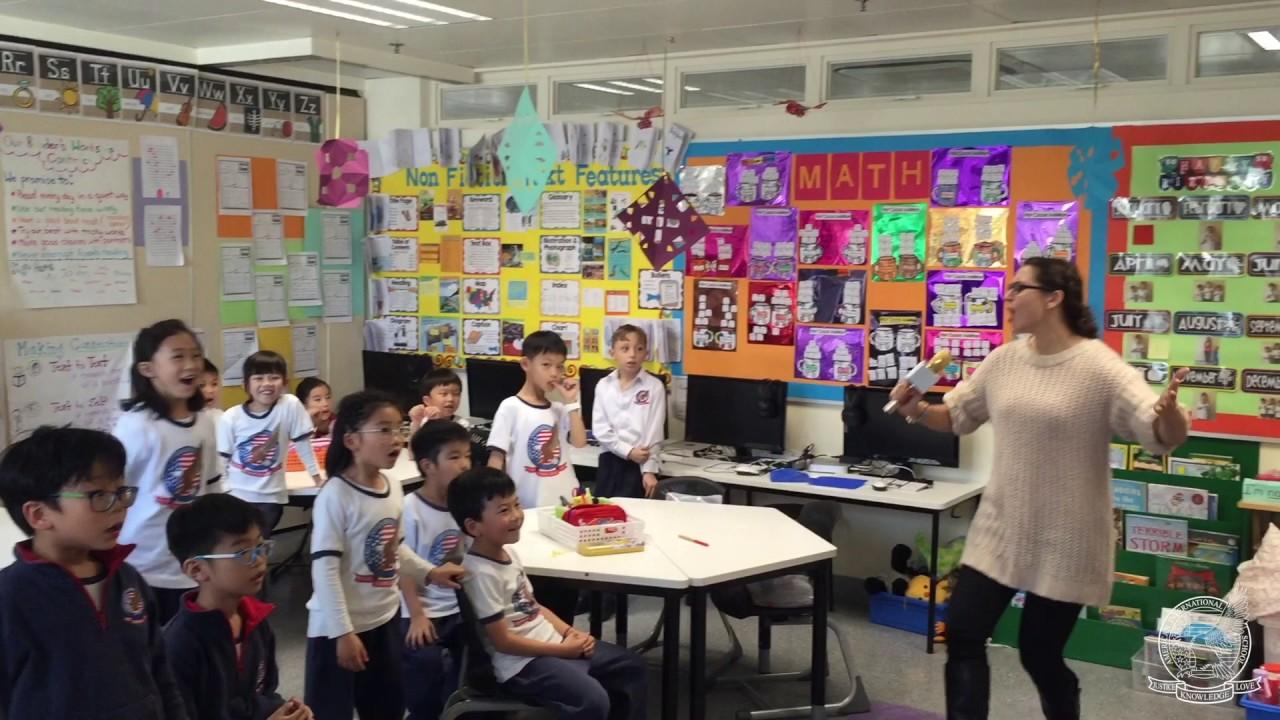 Elementary Children Singing Jingle Bells - YouTube