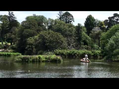 Punting on the Ornamental Lake