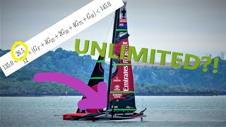Batwing Main and the UNLIMITED sail area loophole: A guide to America's Cup Sail Plans (Part 1)