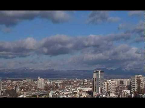 Sofia city time-lapse