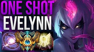 OP EVELYNN GAMEPLAY ONE SHOTS EVERYWHERE! | CHALLENGER EVELYNN JUNGLE GAMEPLAY | Patch 8.16 S8