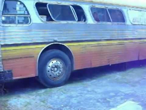 Arranque de Autobus Sultana 1964